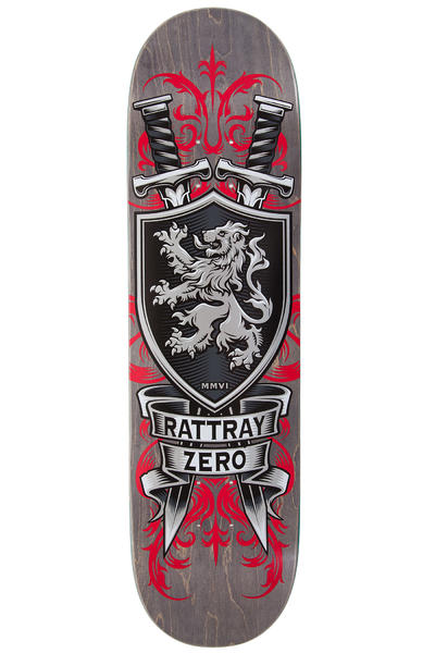 "Zero Rattray MMVI Reissue 8.5"" Deck (red)"