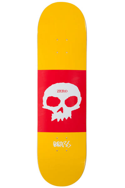 "Zero Boserio Single Skull 8.375"" Deck (yellow)"