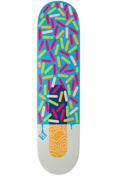 "SK8DLX Icecream 7.625"" Deck (multi)"