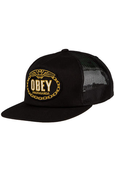 Obey Chains Trucker Cap (black)