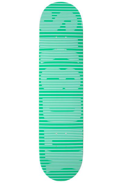"SK8DLX Stripe Series 7.625"" Deck (green)"