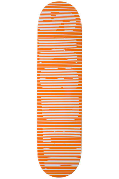 "SK8DLX Stripe Series 7.875"" Deck (orange)"