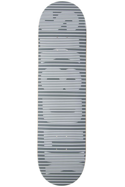 "SK8DLX Stripe Series 8.125"" Deck (grey)"