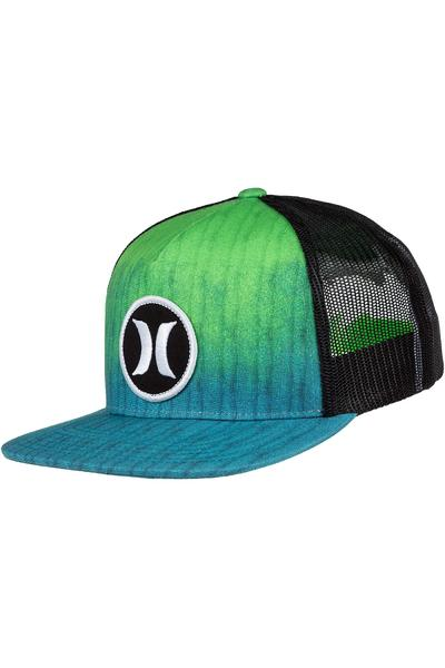 Hurley Block Party Hyper Flow Trucker Cap (green gusto)