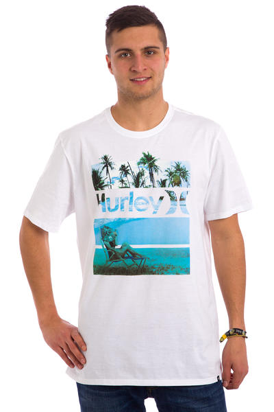 Hurley Tahiti Days Premium T-Shirt (white)