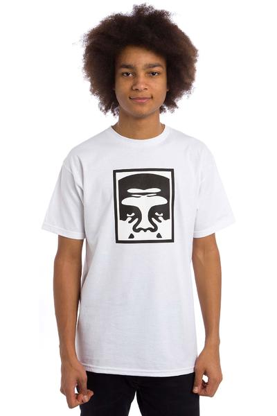 Obey Half Face Icon Premium T-Shirt (white)