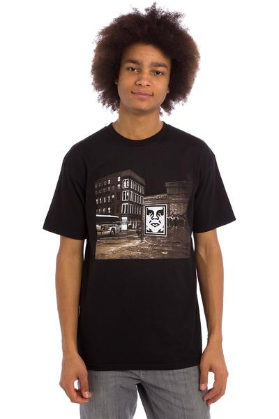 Obey Bus Photo Premium T-Shirt (black)