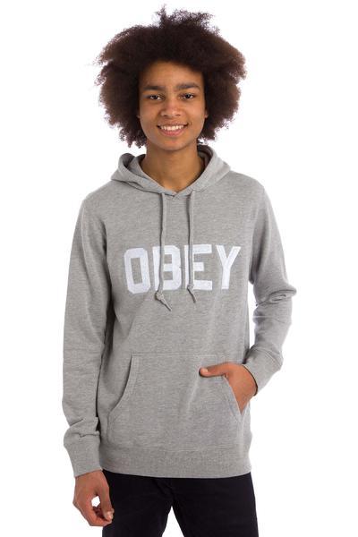 Obey Fordam Hoodie (heather grey)