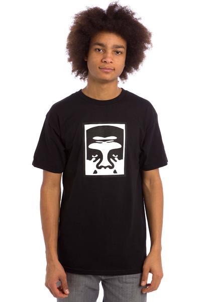 Obey Half Face Icon Premium T-Shirt (black)