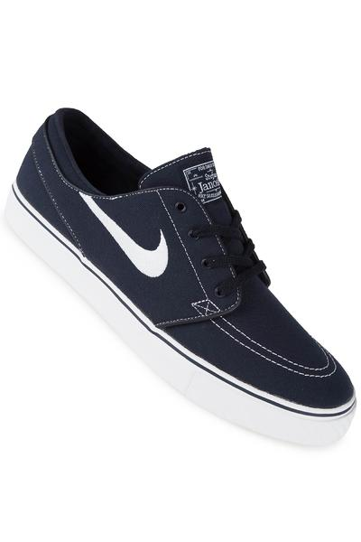Nike SB Zoom Stefan Janoski Canvas Shoe (obsidian white light)