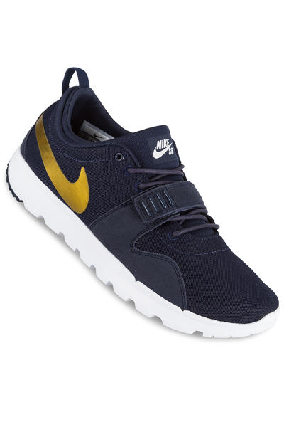 Nike SB Trainerendor Shoe (obsidian metallic gold)