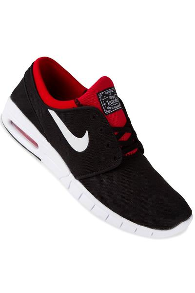 Nike SB Stefan Janoski Max Shoe (black white university red)