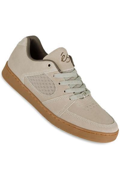 éS Accel Slim Suede Shoe (tan gum)