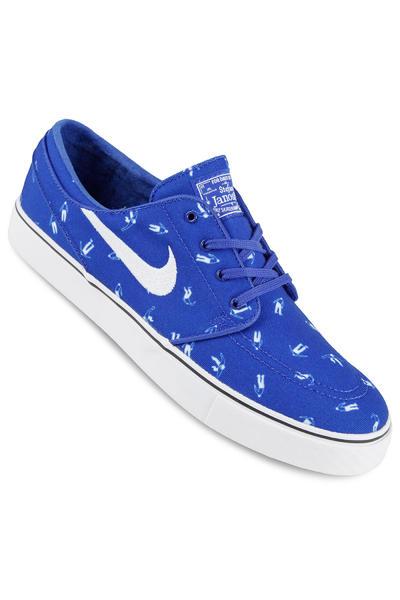 Nike SB Zoom Stefan Janoski Canvas Premium Shoe (racer blue white)