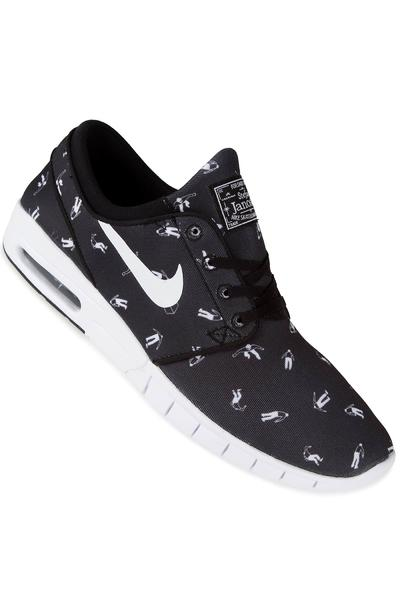 Nike SB Stefan Janoski Max Premium Shoe (black white)