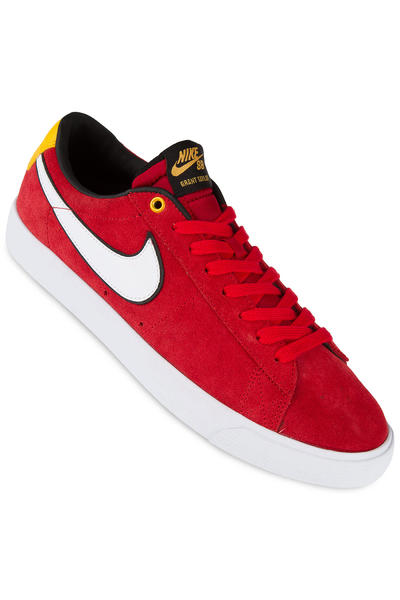 Nike SB Blazer Low Grant Taylor Shoe (university red white)