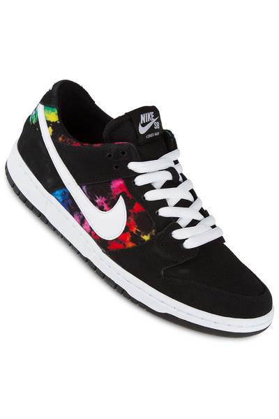 Nike SB Dunk Low Pro Ishod Wair Shoe (black white multi)