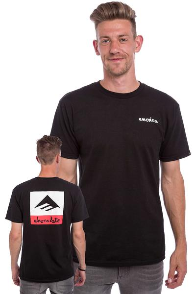 Emerica x Chocolate T-Shirt (black)