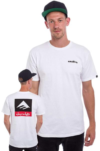 Emerica x Chocolate T-Shirt (white)