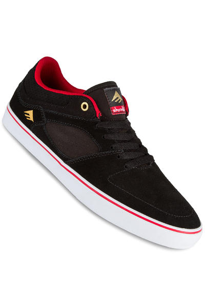 Emerica x Chocolate The HSU Low Shoe (black red white)