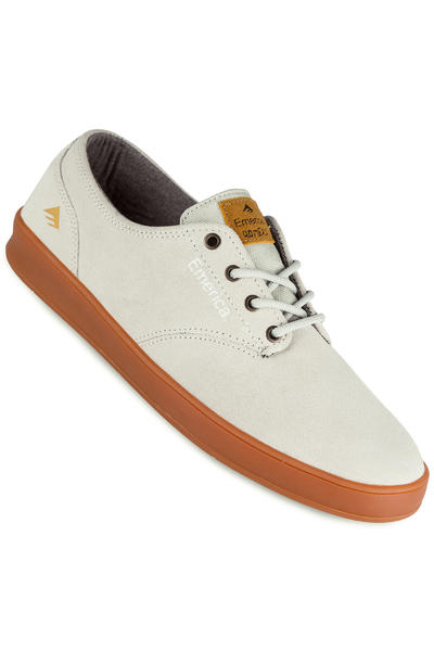 Emerica The Romero Laced Suede Chaussure (white gum)