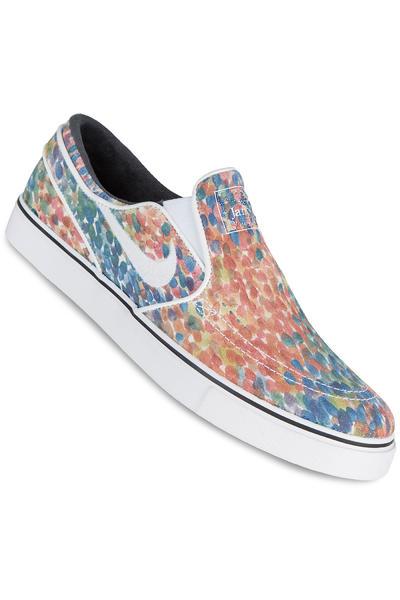 Nike SB Zoom Stefan Janoski Slip Premium Shoe (white black)