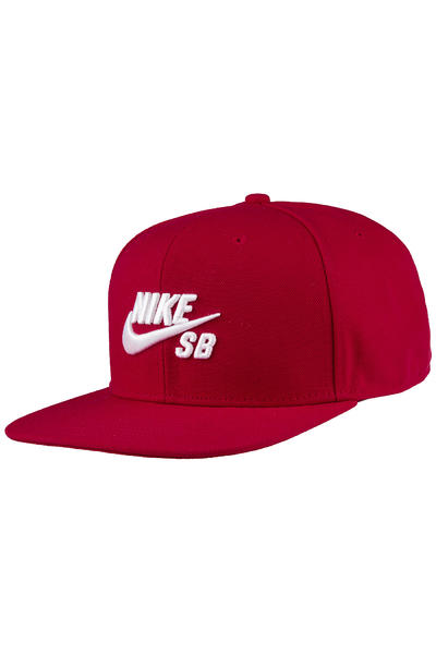 Nike SB Icon Snapback Cap (gym red)