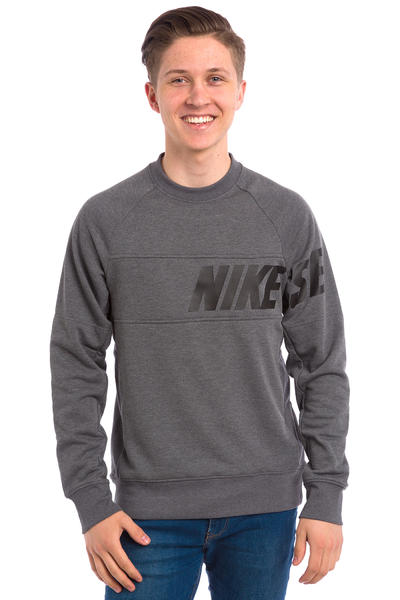 Nike SB Lightweight Everett Dri-FIT Sweatshirt (charcoal heather)