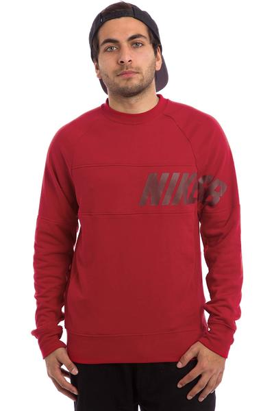 Nike SB Lightweight Everett Dri-FIT Sweatshirt (gym red)