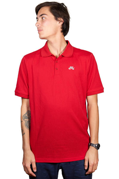 Nike SB Dri-FIT Polo-Shirt (gym red)