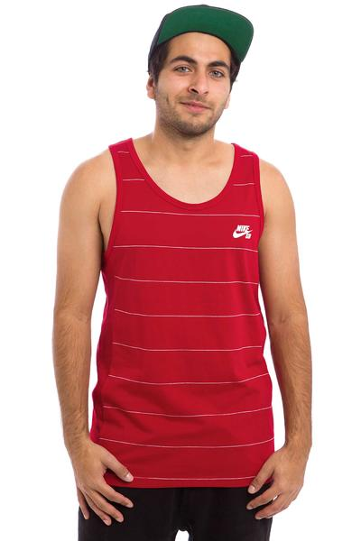 Nike SB Dri-FIT Yarn Dye Tank-Top (gym red)