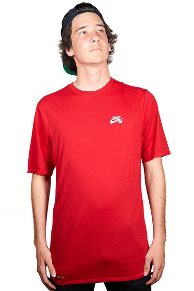Nike SB Skyline Dri-FIT Graphic T-Shirt (gym red)