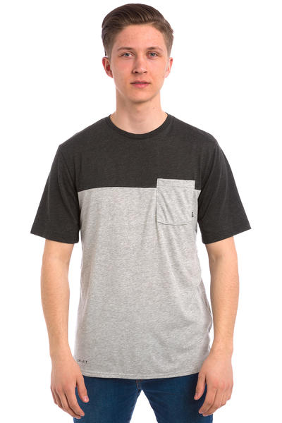 Nike SB Dri-FIT Blocked Pocket T-Shirt (dark grey heather)