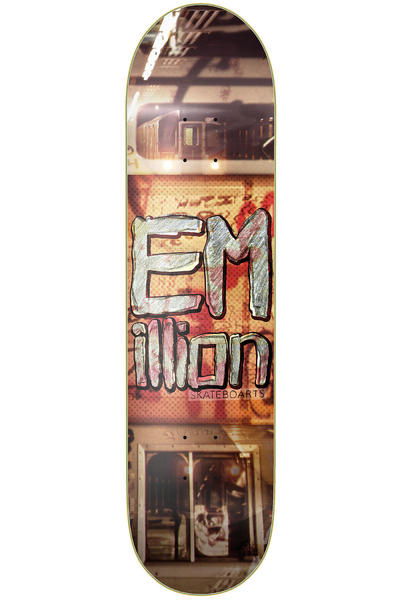 "EMillion Superior Subway 8.25"" Deck (multi)"