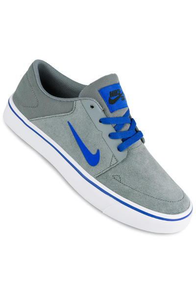 Nike SB Portmore Schuh kids (cool grey racer blue)