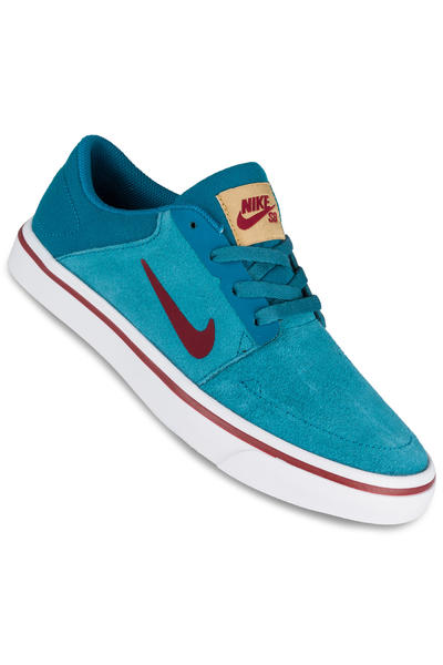 Nike SB Portmore Shoe kids (abyss team red)