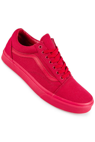 Vans Old Skool Canvas Schuh (crimson)