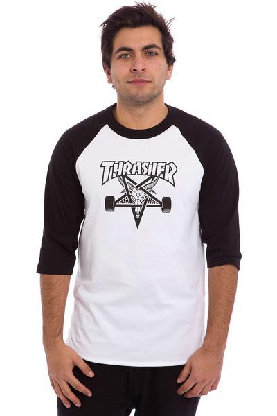 Thrasher Skategoat Longsleeve (white black)