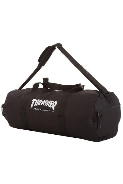 Thrasher Logo Duffel Sac (black)