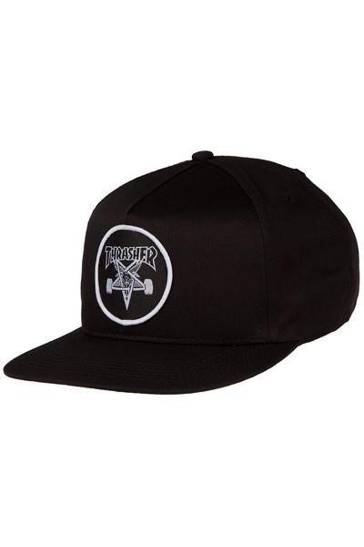 Thrasher Skate Goat Snapback Gorra (black)
