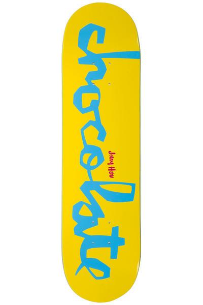 "Chocolate Hsu Original Chunk 8.125"" Deck (yellow)"