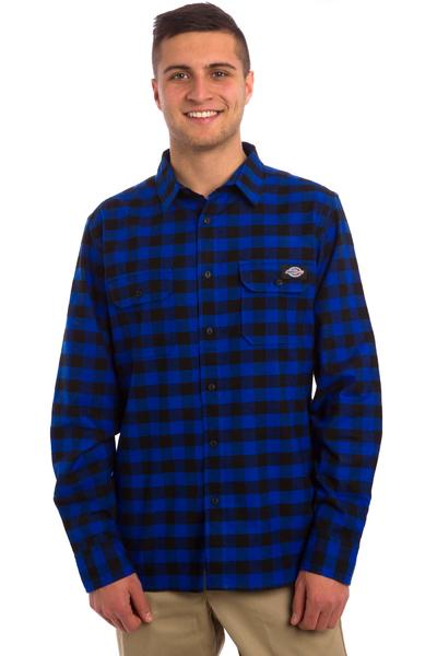 SK8DLX x Dickies Jacksonville Hemd (royal blue)