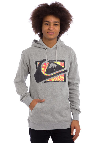 Quiksilver Everday MW Spray Hoodie (light grey heather)