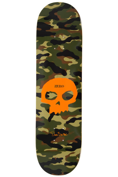 "Zero Burman Sinlge Skull Impact Light 8.5"" Deck (camo)"