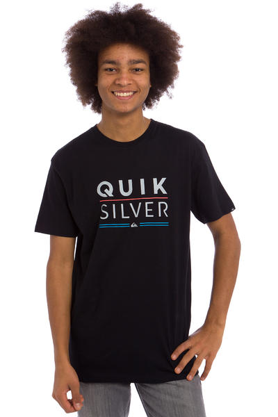 Quiksilver Classic Fully Stacked T-Shirt (black)