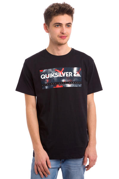 Quiksilver Classic Check My Spray T-Shirt (black)