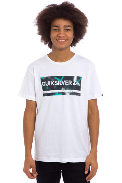 Quiksilver Classic Check My Spray T-Shirt (white)