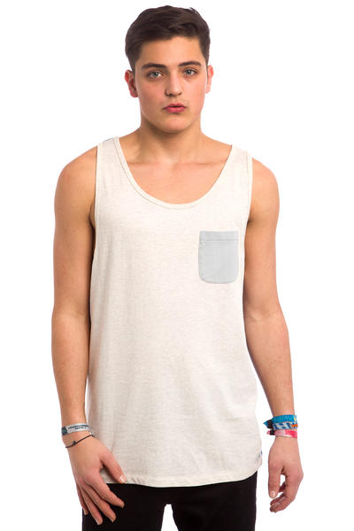 Quiksilver Baysick Tank-Top (snow white heather)