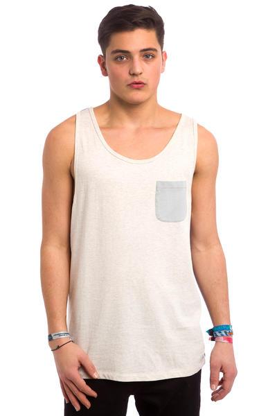 Quiksilver Baysick Camiseta de tirantes (snow white heather)