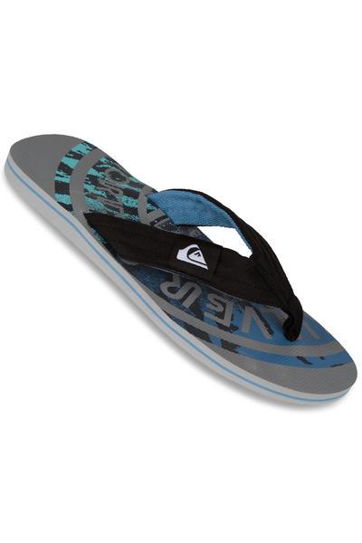 Quiksilver Molokai Layback Slaps (grey grey blue)